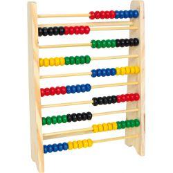Boulier apprendre à compter,10 rangées