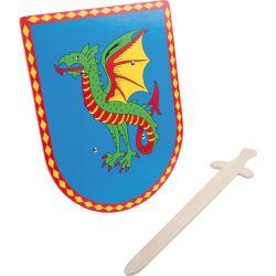 Bouclier et épée Dragon
