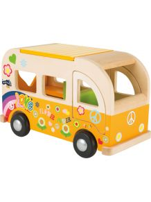 Le mini bus hippie