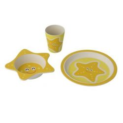Set repas enfant 3 pièces Etoile de mer