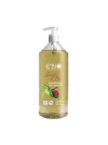 2 en 1 Shampoing Douche Fruits d'Été 1l