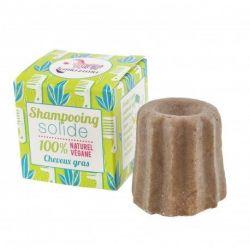 VRAC Shampoing solide cheveux gras à la litsée citronnée Lamazuna