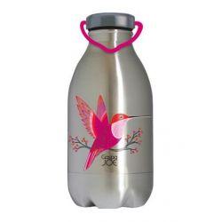 Gourde inox DAILY colibri 450 ml