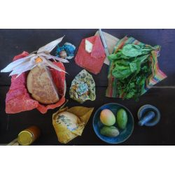 Emballage alimentaire réutilisable par lot de 3XS L'Abeillemballe