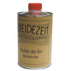 Huile de lin siccativée 1L