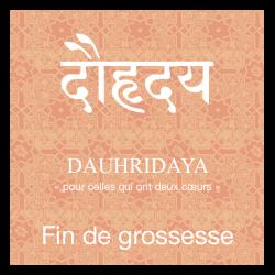 Infusion ayurvédique bio Dauhridaya, fin de grossesse