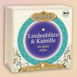 """Infusion bio Hari Tea, """"Sérenité""""  tilleul et camomille"""