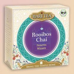 """Infusion bio Hari Tea, """"Connaissance intérieure"""",  thym et rooibos"""