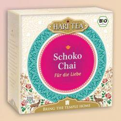 """Infusion bio Hari Tea, """"Pour l'Amour"""",  choco chai, piment et vanille"""