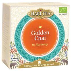 """Thé noir bio Hari Tea, """"Pour l'harmonie"""", thé noir et épices chai"""