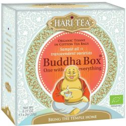 Buddha Box bio, assortiment de 11 infusions  Hari Tea