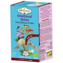 """Tisane SHOTI MAA 5 élèments bio, """"L'eau"""" ,hibiscus, menthe et réglisse"""