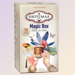 Boîte cadeau SHOTI MAA ,assortiment de 12 infusions bio ayurvédiques