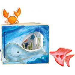 Livre bébé interactif Monde sous-marin
