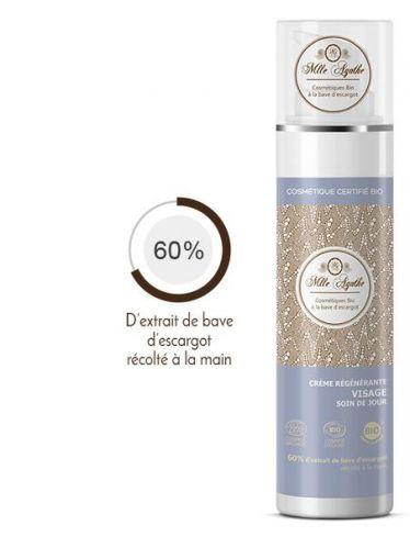 Crème régénérante Visage soin jour airless 50ml