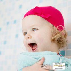 Bonnet de bain Framboise