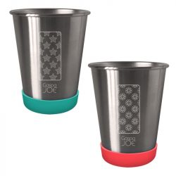 Set 2 gobelets inox 35 cl - Party