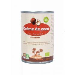 Crème de coco 21% MG, Bio équitable 400ml