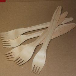 25 couteaux en bois de peuplier