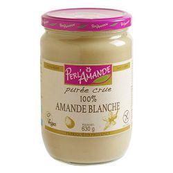 Purée d'amandes blanches bio - 630g - Perlamande