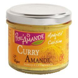 Apéritif & Cuisine Amande Curry 90g - Perlamande