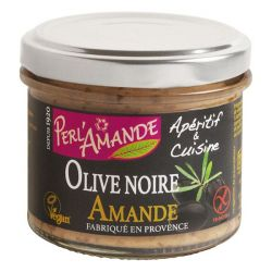 Apéritif & Cuisine Amande Olive noire - 90g - Perlamande