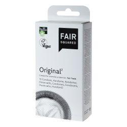 Préservatifs Original naturels - 10 pièces - Fair Squared