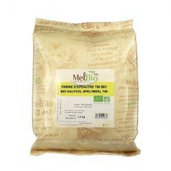 Farine complète de grand épeautre T110 bio Melbio-2,5kg