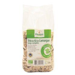 Trio de riz longs complets de Camargue - 500g