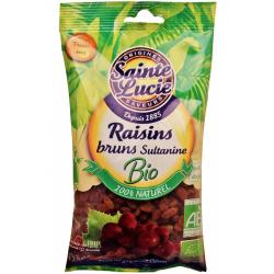 Raisins bruns sultanine - 125g
