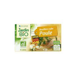 Bouillon poule et fines herbes Bio - 8 x 10grs