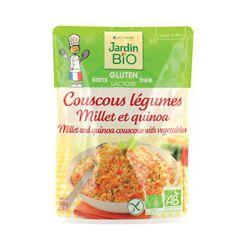 Couscous légumes, au millet et quinoa Bio - 220grs