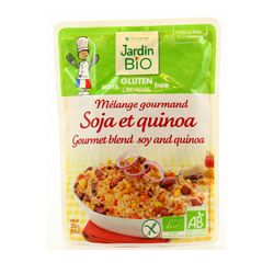 Soja et Quinoa cuisinés Bio - 250grs