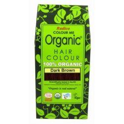 Coloration végétale brun foncé - 100g