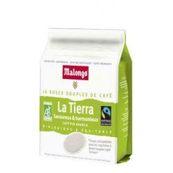Café - Arabica La Tierra, Bio et Commerce équitable - 16 dosettes