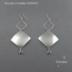 Bijou local - Boucles d'oreilles OUENGO