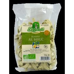 Ruban ail basilic aux oeufs frais bio 250gr