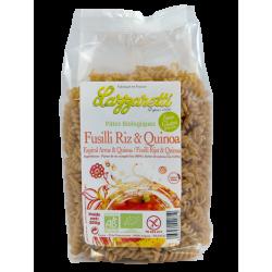 Fusilli riz quinoa sans gluten bio 250gr