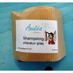 Shampoing solide cheveux gras ANUTEA