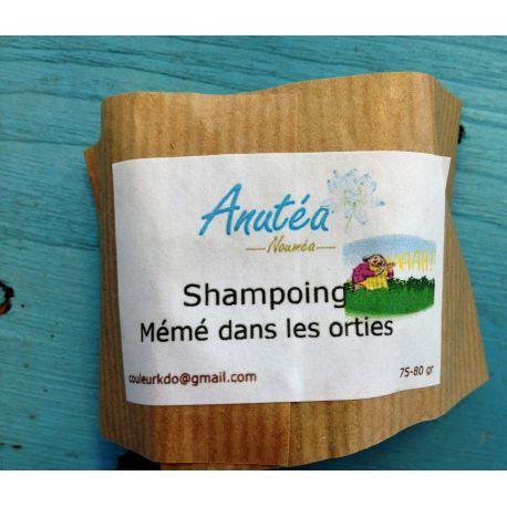 """Shampoing solide """"Mémé dans les orties"""" ANUTEA"""