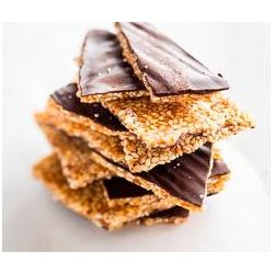 Croquants de sésame au chocolat bio