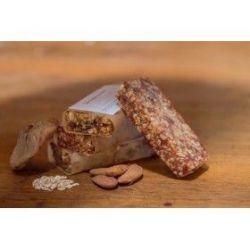 Barre de céréales,chocolat et fruits secs bio locales