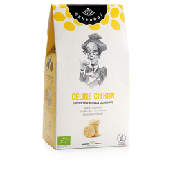 Biscuits Céline citron sans gluten