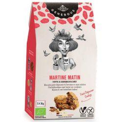 Biscuits petit déjeuner Martine Matin sans gluten