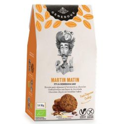 Biscuits petit déjeuner Martin Matin avoine chocolat sans gluten