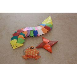 Atelier Origami et Zentangle au Marché alternatif de Noel