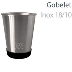 Set 2 gobelets inox - Party