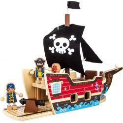 "Kit de construction ""Bateau de pirates"""
