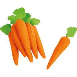 Les carottes en feutre (lot de 7)