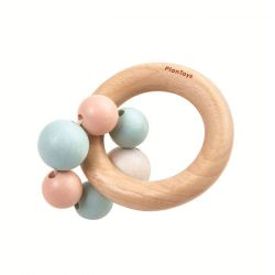 Hochet perles pastel